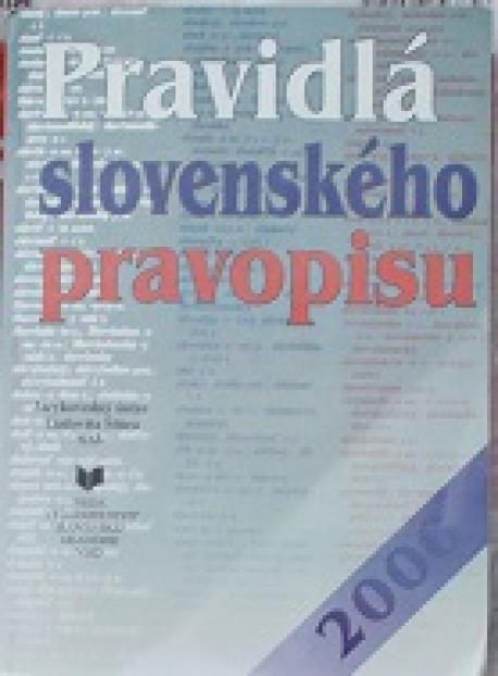 Pravidlá slovenského pravopisu /2000/