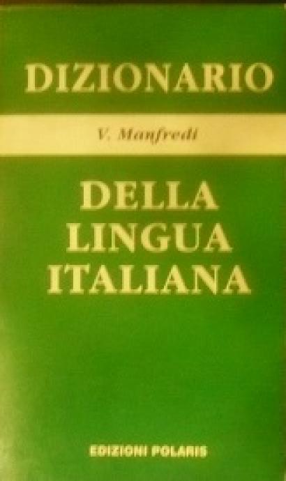 DIZIONARO Della lingua italiana