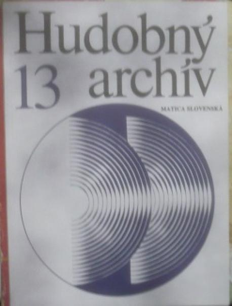 Hudobný archív 13