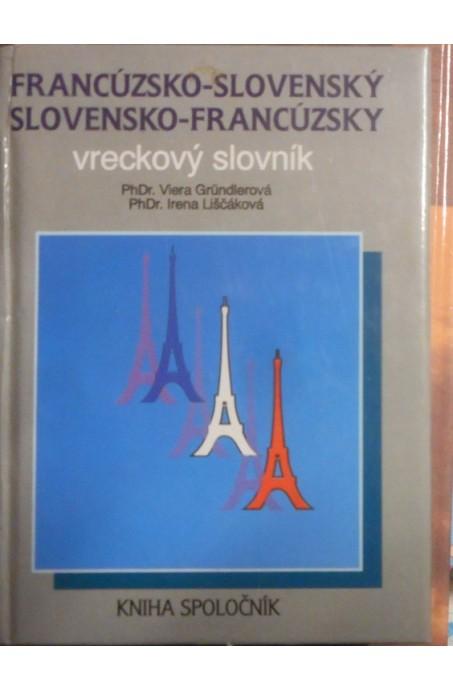 Francúzsko-slovenský, slovensko-francúzsky vreckový slovník