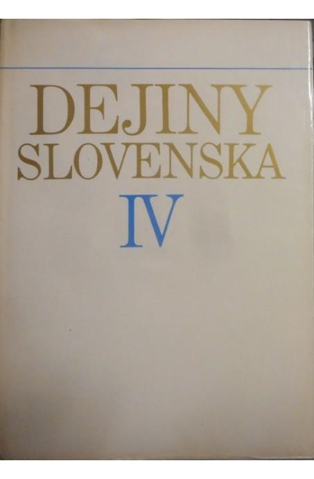 Dejiny Slovenska IV.