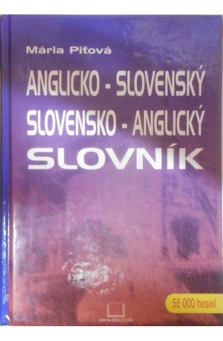 Anglicko-slovenský, slovensko-anglický - 55000 hesiel