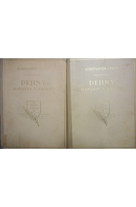 Dejiny Slovákov v Amerike I. a II. diel