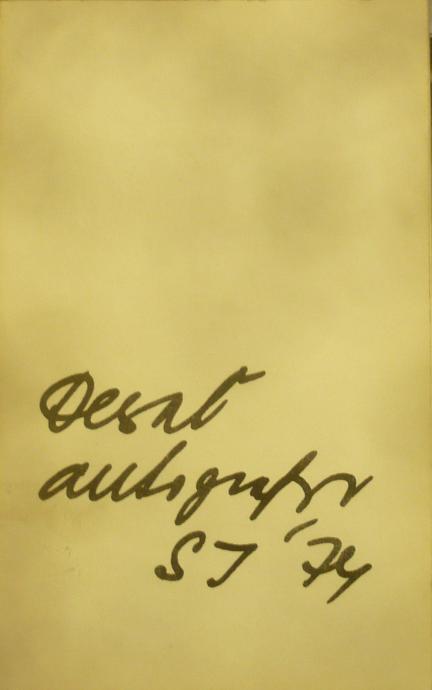 """Desať autografov SJ """"74"""