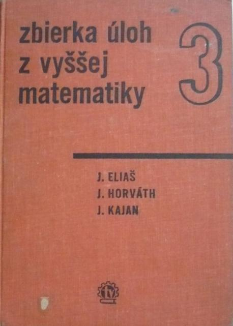 Zbierka úloh vyššej matematiky 3