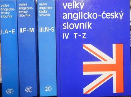 Veľký anglicko-český slovník I., II., III., IV